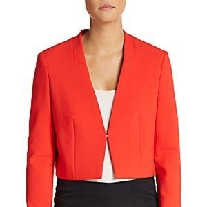 🛍BOGO 1/2 OFF- Hugo Boss Cropped Blazer